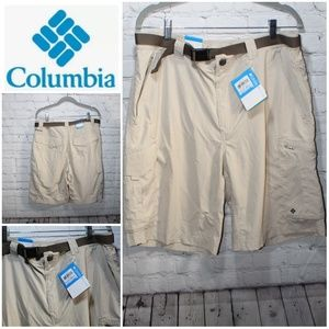 "Columbia omni shademodern classic cargo shorts 36"""